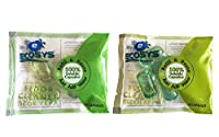 Ecosys Refill Pack of 2: Floor Cleaner(Green Apple & Aloe Vera) water soluble capsule each-1Litre
