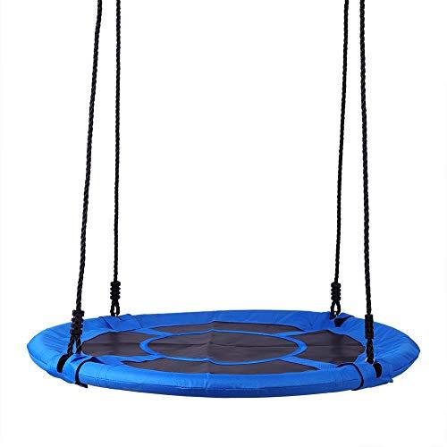 Walfront Kinderschaukel, Nestschaukel Schaukel Hängesessel Sitz für Kinder, Garten-Schaukel bis 100 kg belastbar Outdoor Hanging Relax