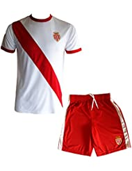 Maillot + short AS MONACO - Collection officielle ASM FC - Football -Taille enfant