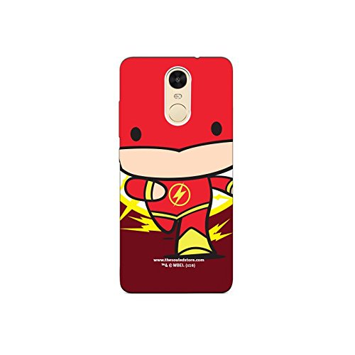 Flash Face Xiaomi Redmi Note4 Mobile Case by The Souled Store