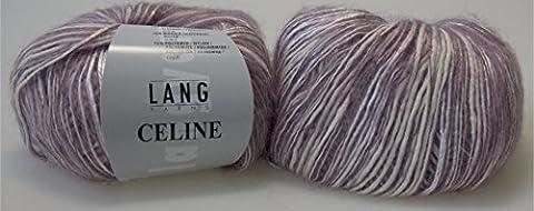 Celine von Lang Yarns, Fb. 48 hellflieder - 50 g/140 m