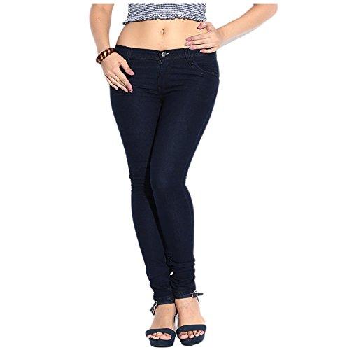 7. Ganga Casual slim fit Denim jeans for Women
