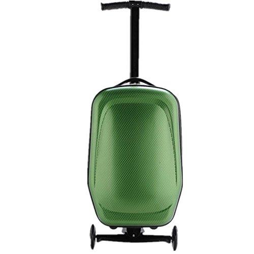 Borsa da viaggio Trolley scooter , yellow green