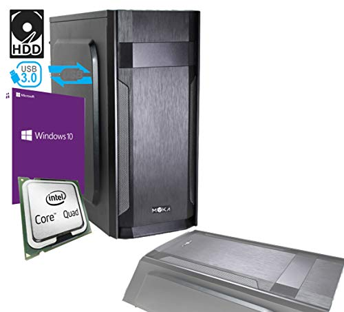 PC Desktop Intel Quad Core Licencia Windows 10 Professional