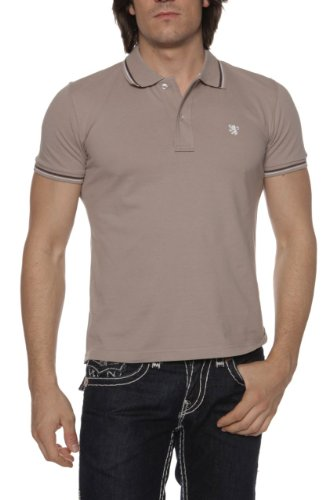 Williams Wilson Herren Shirt Poloshirt OXNARD Khaki1