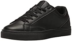 Fila Womens Amalfi Logo Perf Walking-Shoes, Black/Black/Black, 8 B US