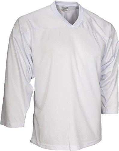 CCM Senior Hockey Practice Jersey - 10200 - White - Medium