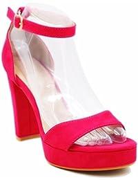BGYHU GGX/Damen Schuhe Kunstleder Stiletto Heel Heels Heels Party  Evening Schwarz/Silber