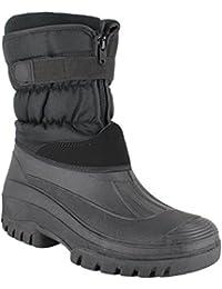 Groundwork ls87Mens Muckers mukker estable invierno botas de nieve