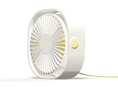 OCHO8 Ventilador USB personal, Ventilador de mesa portátil con ajuste de 360...