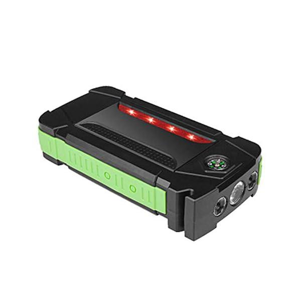 HAGZ Arrancador portátil de 600A 20000mAh, Paquete de Refuerzo de batería de Emergencia con Salidas de Carga USB Dobles…