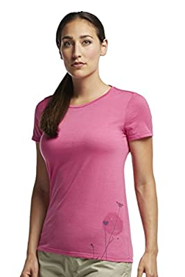 Icebreaker Damen T-Shirt Tech Lite Short Sleeve Crewe Rising Sun von Icebreaker bei Outdoor Shop