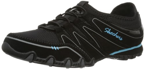 Skechers Bikers Sole Charmer Damen Sneakers Schwarz (Blk)