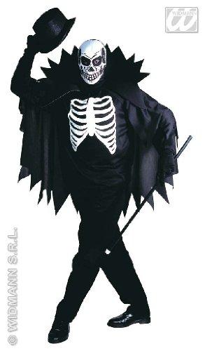 KOSTÜM - SCARY SKELETON - Größe 54 (L) (Stock Mann Halloween Kostüme)