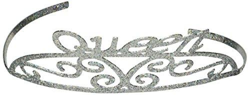 Beistle 60638Blättern Metall Tiara, Queen