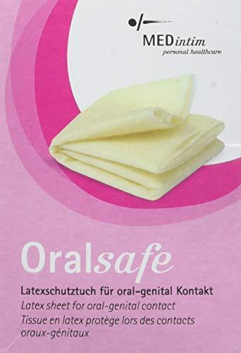 MEDintim ORALsafe Latex-Tücher Vanille