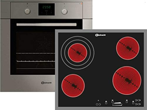 Bauknecht BKS 701 IN Set Backofen BLCK 8251 IN + Glaskeramik Kochfeld ESS 8640 IN