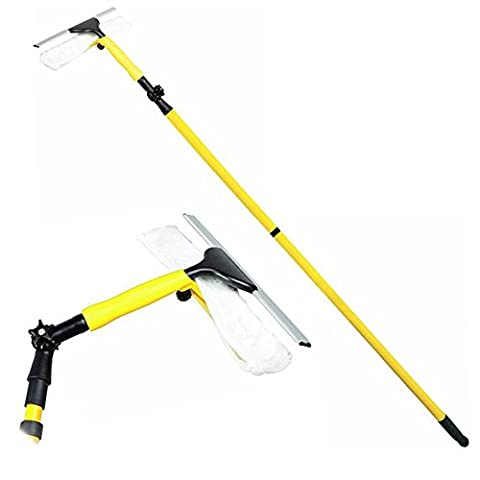Oypla Extendable 3m Professional Heavy Duty Window Cleaning Squeegee Mop Wash Wipe Cleaner