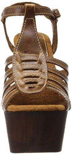 Sbicca Edmonds Damen Leder Keilabsätze Sandale Camel