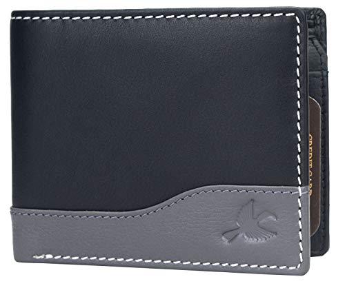Hornbull Buttler Men's Genuine Leather RFID ...