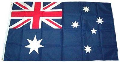 MM Australien Flagge, wetterfest, mehrfarbig, 250 x 150 x 1 cm, 16289