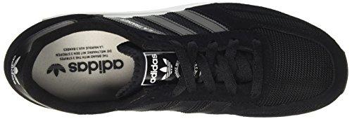 adidas la Trainer Men, Sneaker a Collo Basso Unisex-Adulto Nero (Blk/Blk)