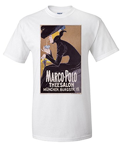 marco-polo-theesalon-vintage-poster-artist-anonymous-germany-c-1905-premium-t-shirt