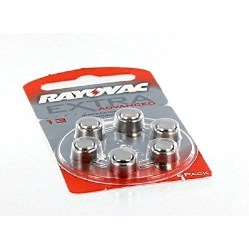 Preisvergleich Produktbild Hörgerätebatterie RAYOVAC R13AE Original