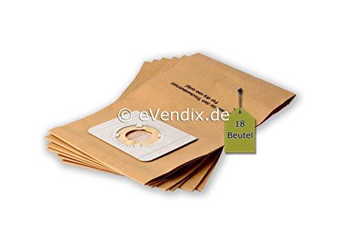 eVendix Staubsaugerbeutel passend für Kärcher 4000 Plus/TE | 18 Staubbeutel | ähnlich wie Original-Beutel: 6.904-167, 6.904-322
