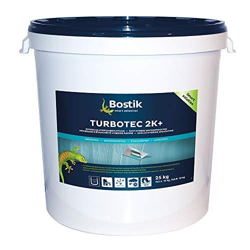 Bostik TURBOTEC 2K, Bauwerksdickbeschichtung, Dichtschlämme, Abdichtung 25kg