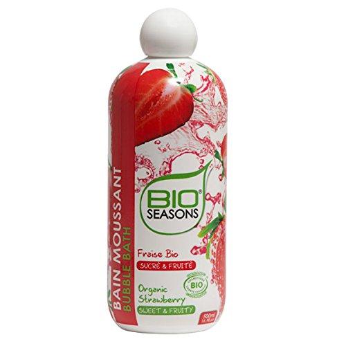 BIO SEASONS Bain Moussant Fraise Bio 500 ml