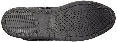 Geox Creamy E, Sneakers Hautes fille Noir (C9999)
