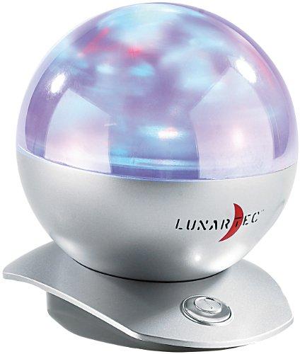 Lunartec Laser-Kugel-Lampe mit Polarlicht-Effekten (Galaxy-simulator)