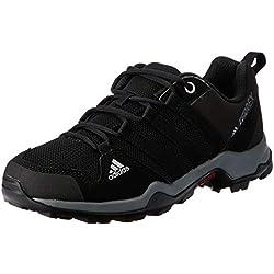 Adidas Terrex Ax2r K, Chaussures de marche Mixte enfant - Noir (Negbas/Negbas/Grivis), 36 EU