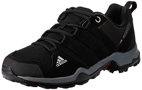 adidas Terrex AX2R K, Stivali da Escursionismo Unisex-Bambini, Nero (Negbas/Grivis 000), 36 EU