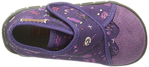 FRODDO Froddo Girl Violet Slipper Gz017403-1, Chaussons hauts, non doublés fille Violet - Violet