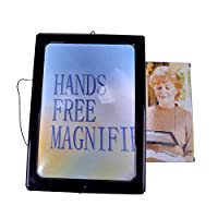 Boxcute A4 Size Full Page Giant Large Hands Free Magnifying Glass Sheet Magnifier For Reading Sewing