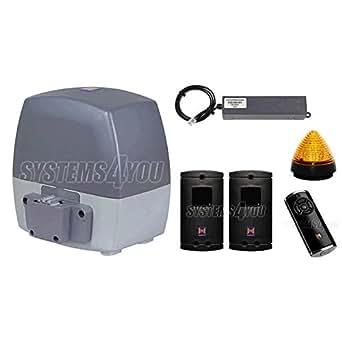 Kit pour portails coulissant Hörmann LineaMatic SK BiSecur avec la cremaillère acier 30 x 8 mm, 6 m