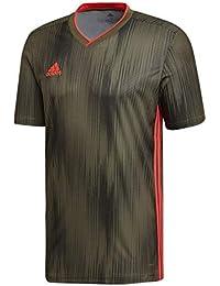b47d80aac670d1 adidas TIRO 19 JSY, T-Shirt Uomo, Raw Khaki/Shock Red,