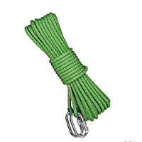 WYX Climbing rope 5 Color Optional Rope 14mm Diameter Outdoor Hiking Accessories High Strength Cord Safety Escape Climbing Equipment Fire Rescue Parachute Rope Outdoor
