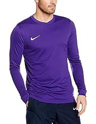 Nike Ls Park Vi Jsy - Camiseta manga larga para hombre, color morado, talla L