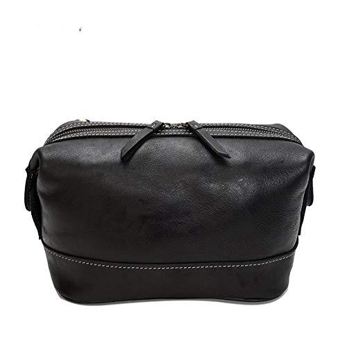 ujhfdghdf Glänzendes Leder Herren-Handtasche Mode-Taschen, Reißverschluss Multifunktionspaket, Ledertasche Männer und Frauen, A2 -