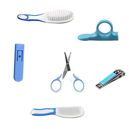 Homyl Baby Nagelpflege Set 5 in 1 Babykörperpflege - blau