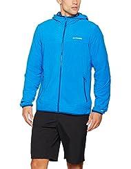 Columbia Pine Mountain Fleece Full Zip Chaqueta, Hombre, Super Blue, XXL