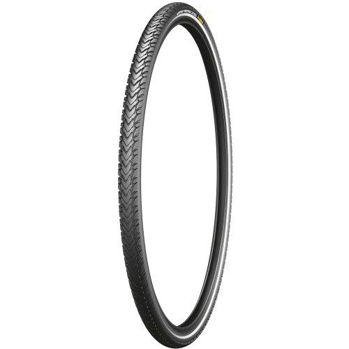 Michelin Reifen Protek Cross Max Draht Reflex Schwarz, 28 Zoll