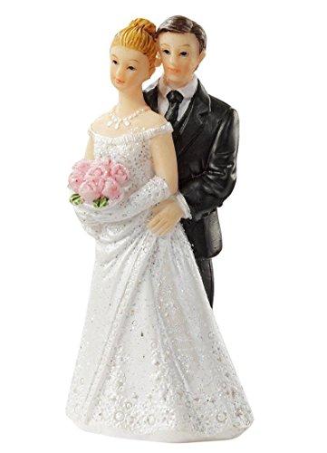 Hochzeitspaar Brautpaar Höhe ca. 6,5cm Hochzeit Figur Tortenfigur Deko