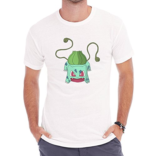 Pokemon Bulbasaur First Generation Attack Herren T-Shirt Weiß