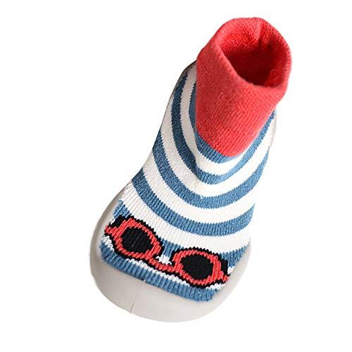 Mitlfuny Niños Niñas Invierno Otoño Zapatillas Calcetines de Piso Suela de Goma...