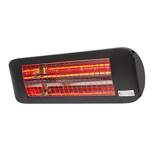 Infrarot Heizstrahler ComfortSun24 - 2000 W Infrarot Heizstrahler - Low Glare | Anthrazit | ohne Schalter