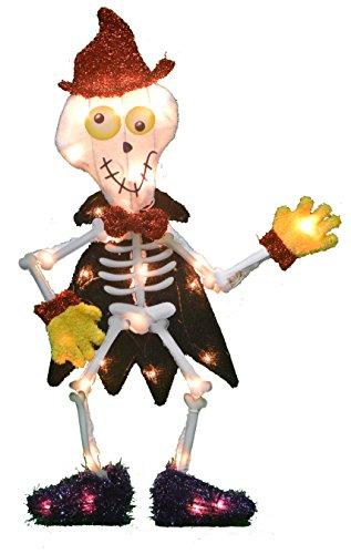 ProductWorks 16511 Victoria Hutto L2D LED-Beleuchtung für Halloween, Hof, Skelett, Außenbeleuchtung, Urlaub, Mehrfarbig (Halloween Stores Victoria)